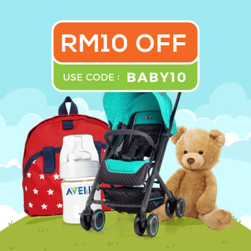 Youbeli RM10 off baby products coupon code