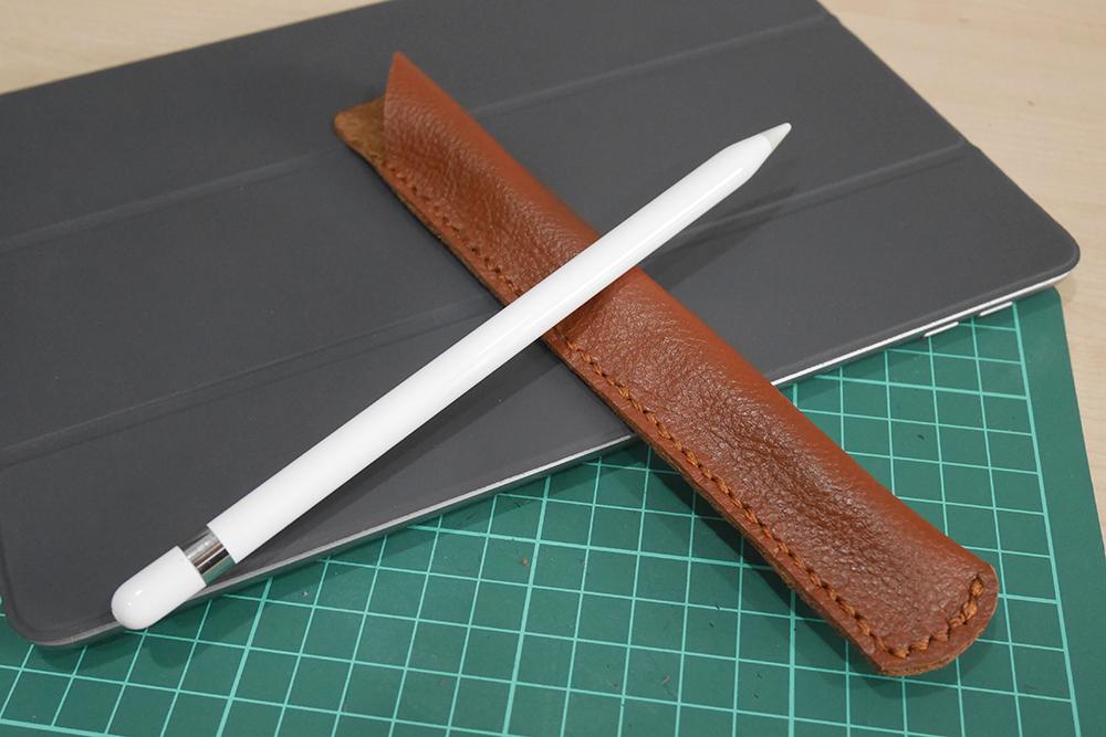 Apple Pencil leather sleeve