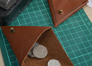 8 Easy beginner leather craft projects made from remnant/scrap leather